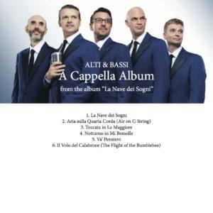 A Cappella Album score